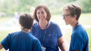 Nicole Gerami at FIT camp